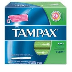 Fater Tampax Blue Box Super...