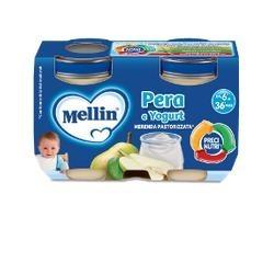 Mellin Merenda Yogurt Pera...