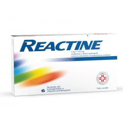 Reactine 5 Mg + 120 Mg...