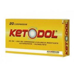 Eg Ketodol 25 Mg + 200 Mg...