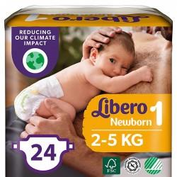 Libero Newborn 1 2-5 Kg 24...