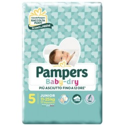 Pampers Baby Dry - 5 - 17...