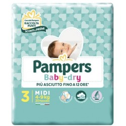 Pampers Baby Dry - 3 - 20...