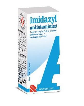 Imidazyl Antistaminico 1 Mg/ml + 1 Mg/ml Collirio