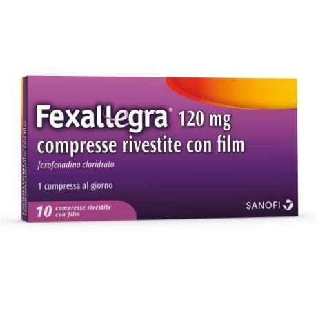 Sanofi Fexallegra 120 Mg Compresse Rivestite Con Film
