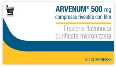 Stroder Arvenum 500 Mg Compresse Rivestite Con Film