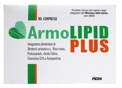 Armolipid Plus Integratore per il Colesterolo 60 Compresse