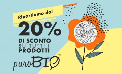 -20% su tutta la linea Purobio Make-Up