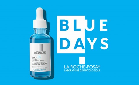 Blue Days: Promozione anti-età La Roche Posay